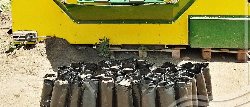 آلة حشو التربة