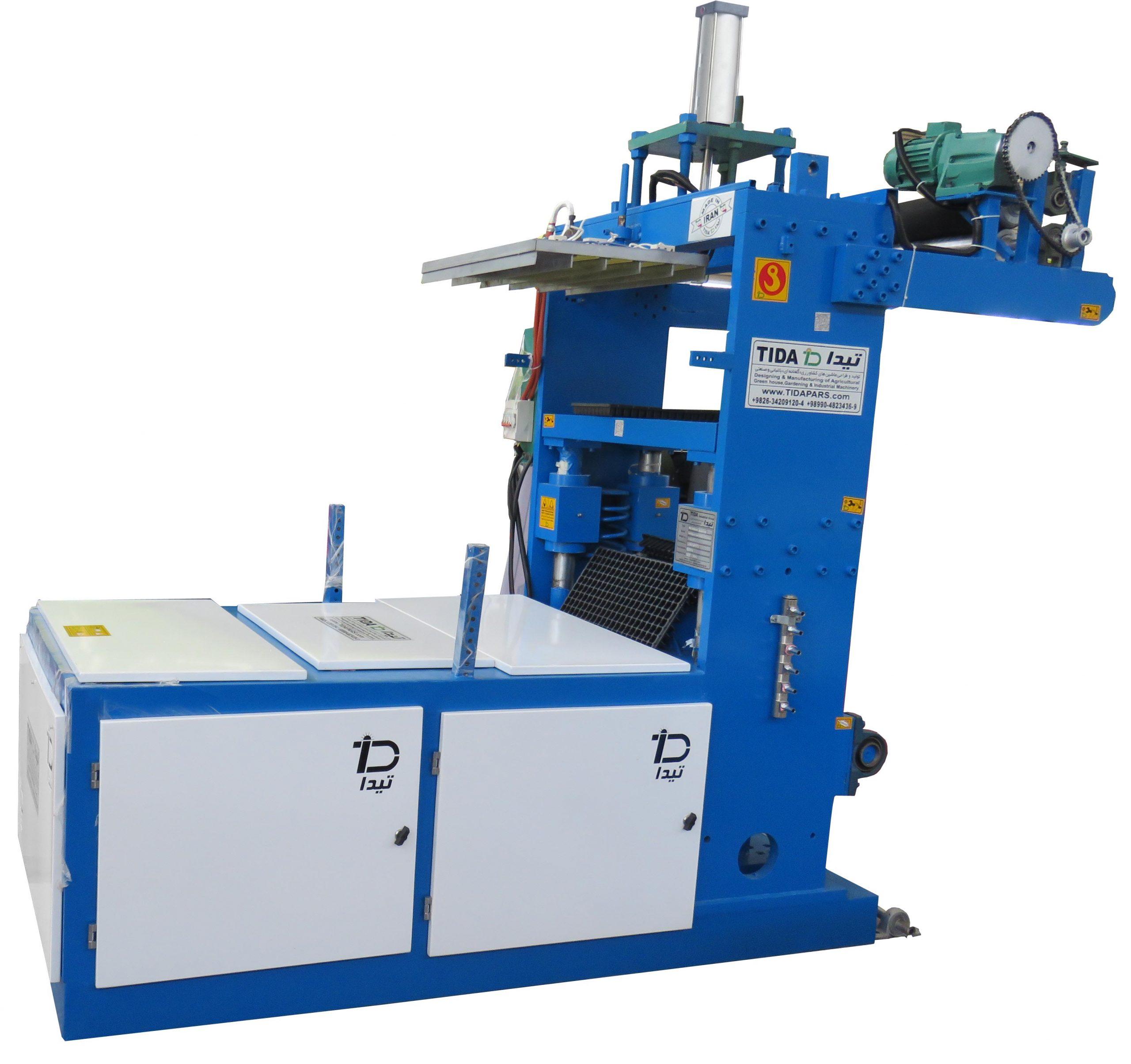 آلة تصنيع صينية تستخدم مادة البوليسترين لإنتاج الصواني
