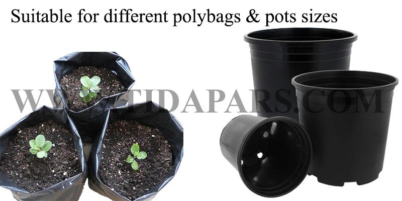 حفر الثقب المركزية في التربة لزراعة الشجيرة و الشتلات و الزهور