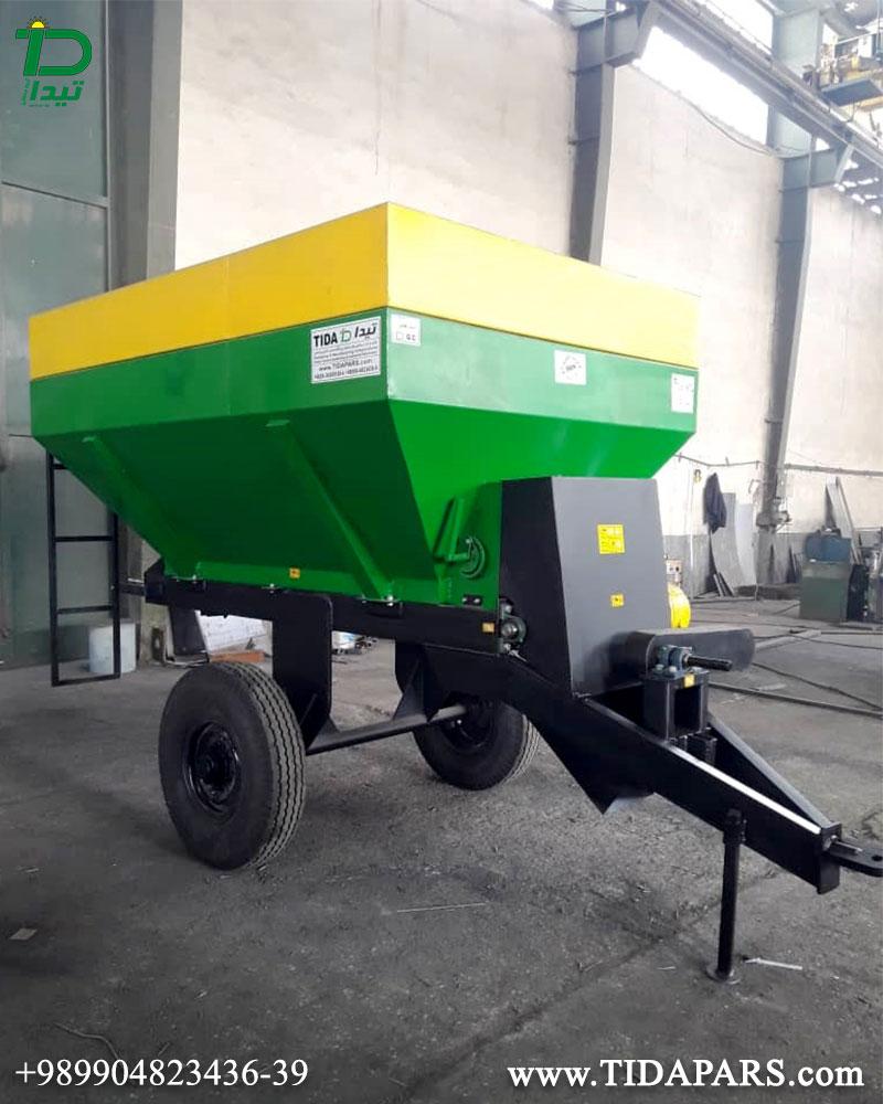 آلة نثر الأسمدة لصف يستخدم للمزارع