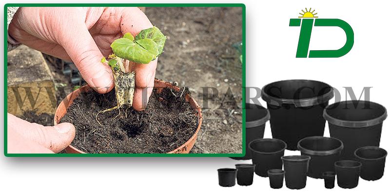 قابلیت سوراخ کردن گلدان در ماشین گلدان پرکن برای کاشت نشا و نهال