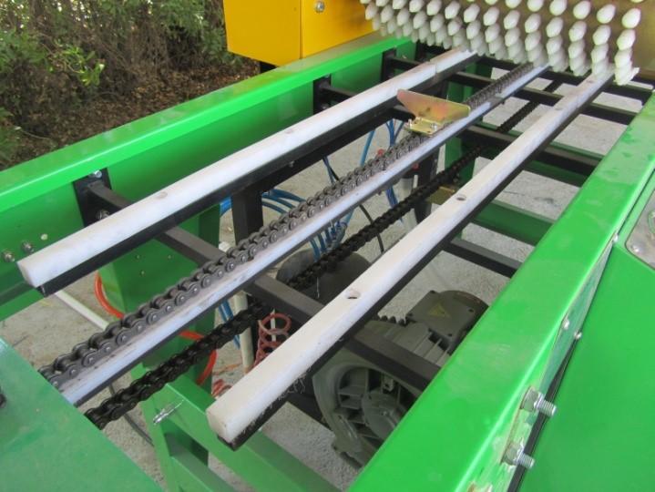 سیستم انتقال دستگاه بذرکار سینی نشا